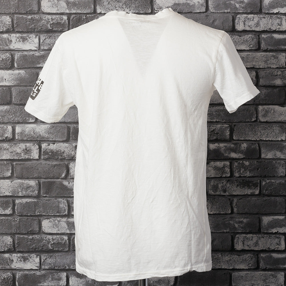 【rough&swell】MEN'S MAURICE TEE[WHITE](RSM-21101)