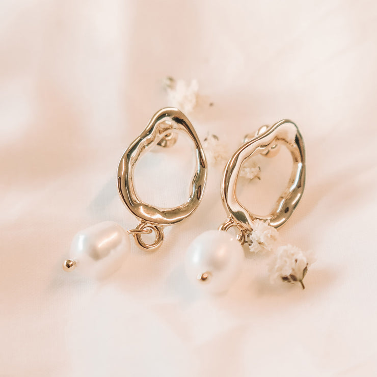pearly | boucles d'oreilles