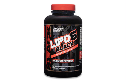 Lipo 6 Black - weight loss helper - 120 caps