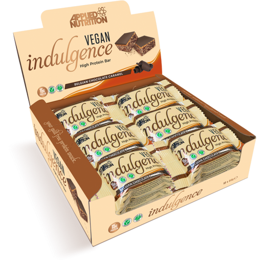 Box of Vegan Indulgence Bar- 12x 50g
