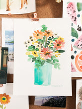Load image into Gallery viewer, Custom Watercolor Flowers