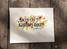 Load image into Gallery viewer, Custom Watercolor Bible Verse