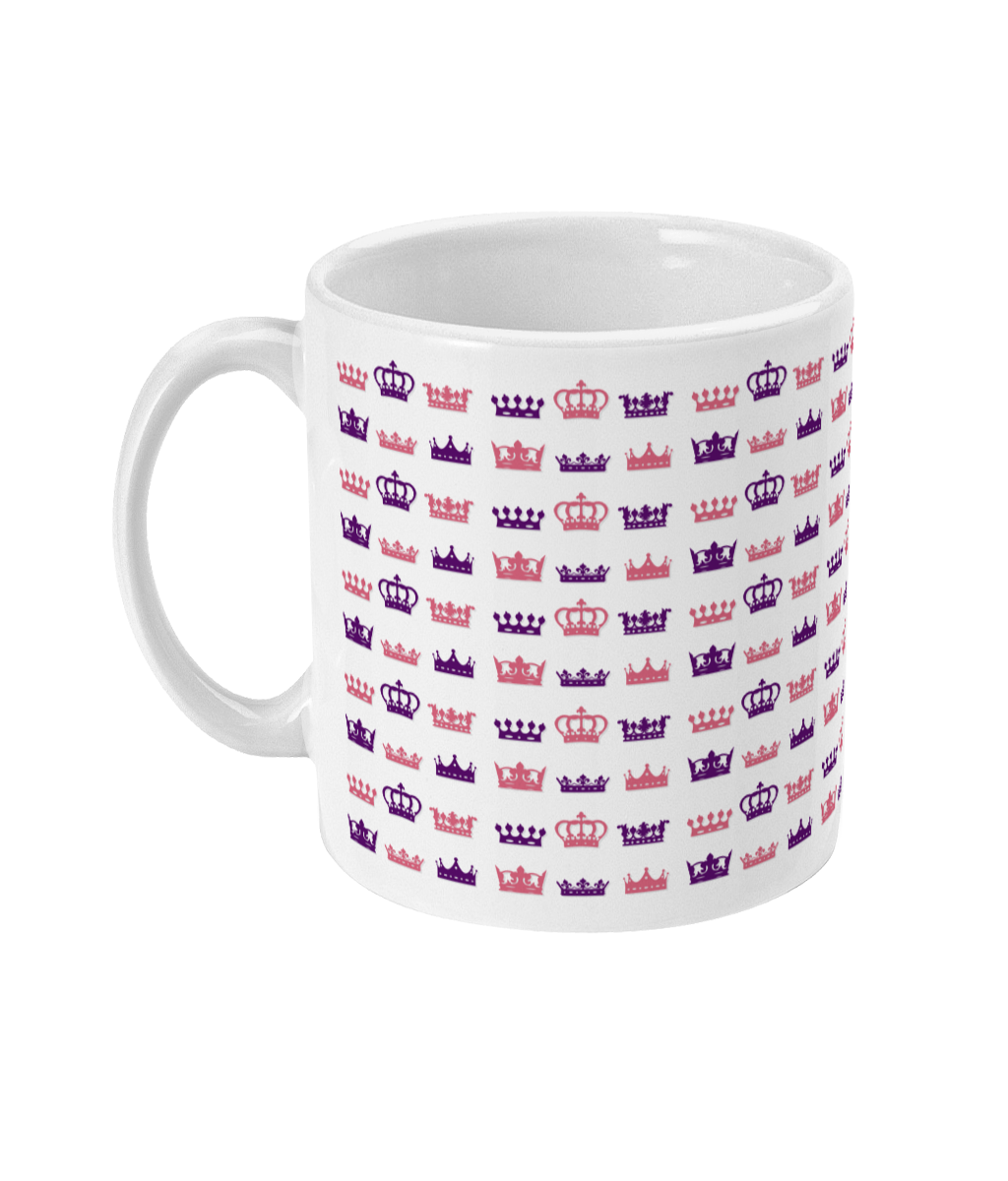 Replicate Royalty crowns mug