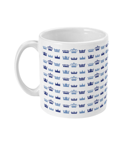 Blue TCC crowns mug