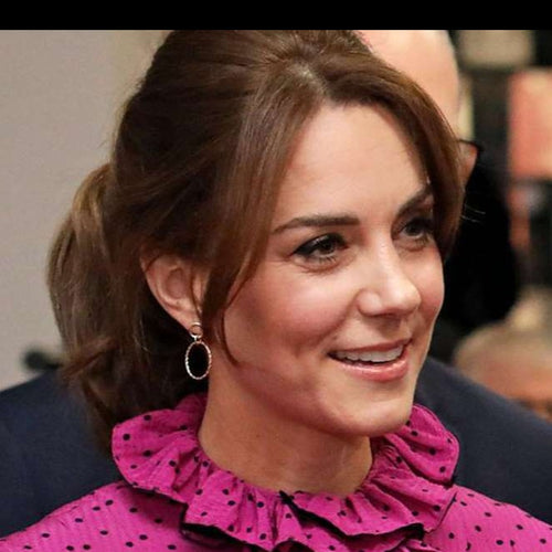 Duchess of Cambridge's Accessorize twist circle hoop earrings