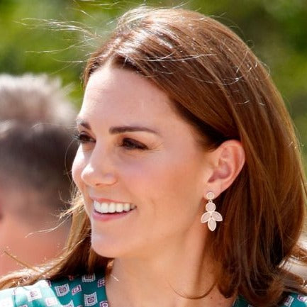Duchess of Cambridge's Accessorize polly petal earrings