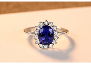 Replica royal engagement ring - Diana and Kate