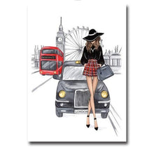 Load image into Gallery viewer, London model canvas print