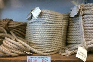 ROPE 10MM 3-PLY PER METER