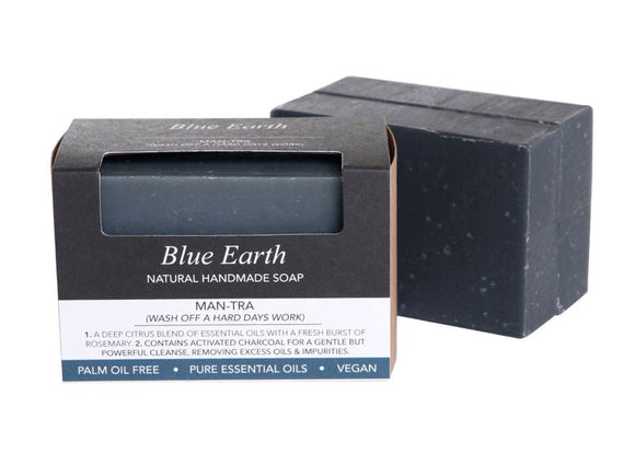 HEMP SOAP BLUE EARTH MANTRA LARGE 190G