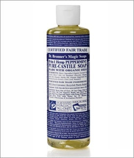 DR BRONNERS 18-IN-1 LIQUID SOAP PEPPERMINT 230ML