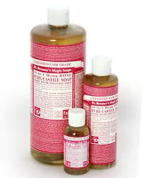 DR BRONNERS 18-IN-1 LIQUID SOAP ROSE 59ML