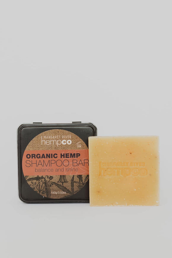 MARGARET RIVER SHAMPOO BAR (IN TIN) ORGANIC 100G