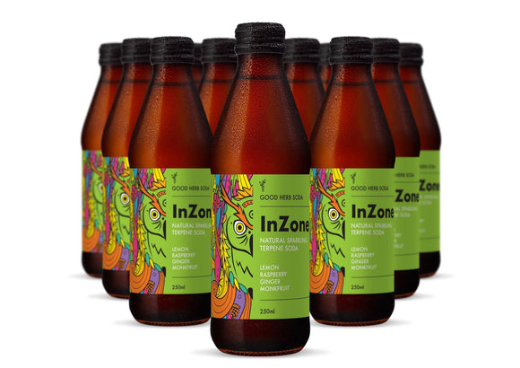 Good Herb Soda - InZone Natural Sparkling Terpene Drink