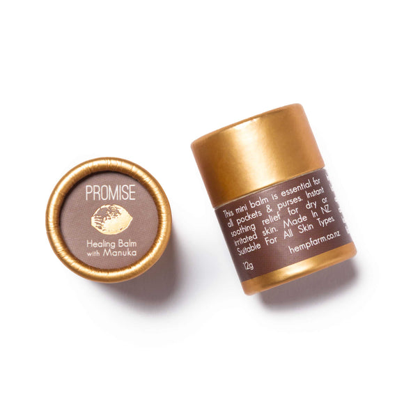 Promises Mini Healing Balm with Organic Manuka Honey (12g)