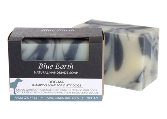 HEMP SOAP BLUE EARTH DOGMA PET WASH MED 85G