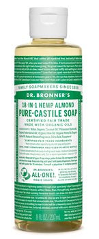 DR BRONNERS 18-IN-1 LIQUID SOAP ALMOND 940ML