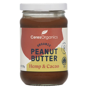 Ceres Hemp & Cacao Peanut Butter 275g