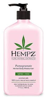 HEMPZ POMEGRANATE MOISTURISER 500ML PUMP