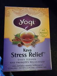 YOGI TEA KAVA STRESS RELIEF BOX OF 1O