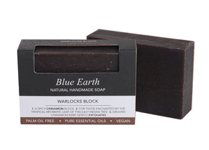 HEMP SOAP BLUE EARTH WARLOCK'S BLOCK MED 85G
