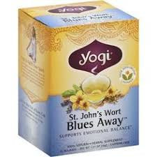 YOGI TEA ST JOHNS BLUES AWAY BOX OF 10