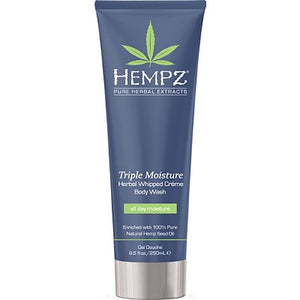 HEMPZ TRIPLE WHIPPED BODY WASH 250ML TUBE