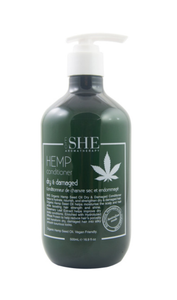 She Hemp Dry and Damaged Conditioner 500ml