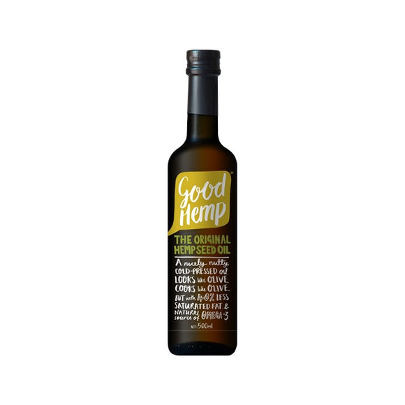 Good Hemp Hemp Seed Oil 500ml