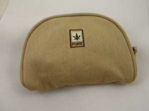 PURE HEMP HANDY CASE FOR CELLPHONE ETC.. BLACK GREY OR KHAKI