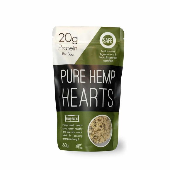 HempFarm Pure Hemp Hearts Snack Pack (60g)