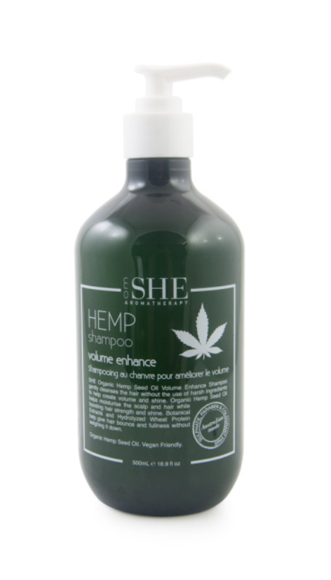 She Hemp Volume Enhance Shampoo 500ml
