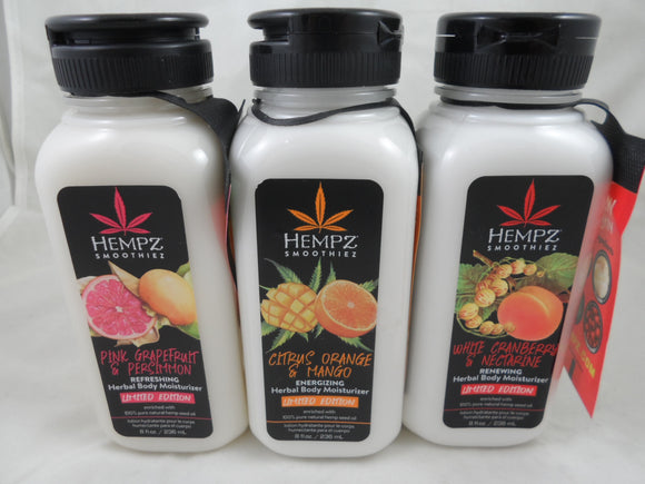 HEMPZ SMOOTHIEZ BODY MOISTURISER