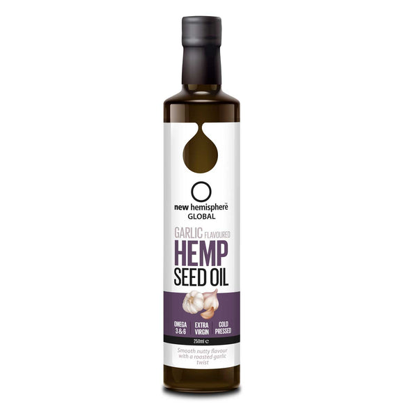 New Hemisphere Garlic Flavoured Hemp Seed Oil