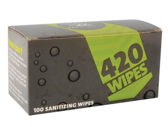 420 STERILIZING WIPES 100-PK