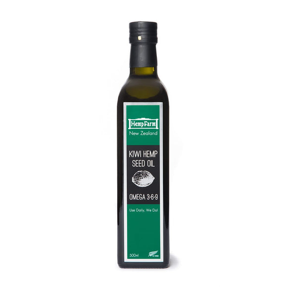 HempFarm Kiwi Hemp Seed Oil 500ml