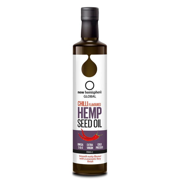 New Hemisphere Chilli Flavoured Hemp Seed Oil