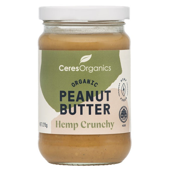 Ceres Hemp Peanut Butter 275g