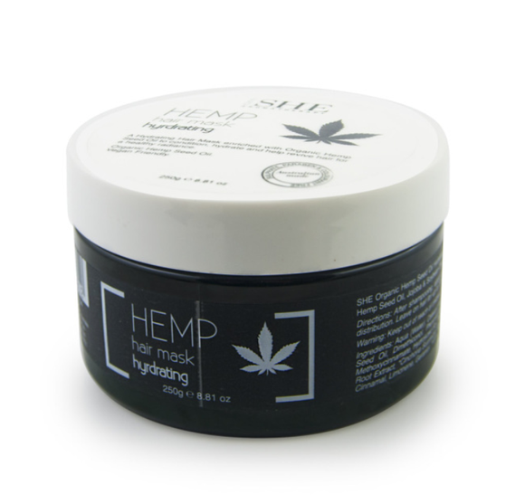 She Organic Hemp Seed Oil Hydrating Hair Mask