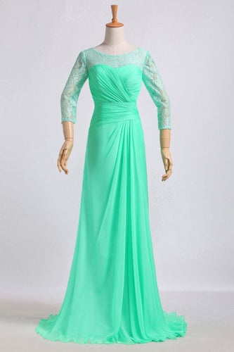 2019 Mother Of The Bride Dresses Floor Length Chiffon