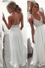 Load image into Gallery viewer, Backless Beading Real Made Prom Dresses Long Evening Dresses Prom Dresses On Sale D74