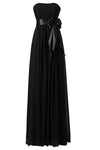 Sweetheart Bridesmaid Chiffon Prom Dresses Long Evening Gowns RS232