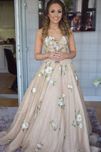 Load image into Gallery viewer, Classy Long Sweetheart Lace Up Charming Prom Dresses Evening Dresses