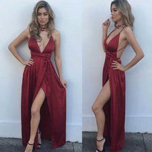 Load image into Gallery viewer, New Arrival Prom Dress Sexy Maxi Modest Prom Dresses RS386