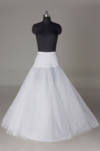 Women Tulle/Polyester Floor Length 2 Tiers Petticoats