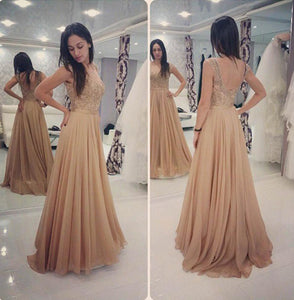 A Line Appliques Cheap Sweetheart Round Neck Green Tulle Long Prom Dresses RS54