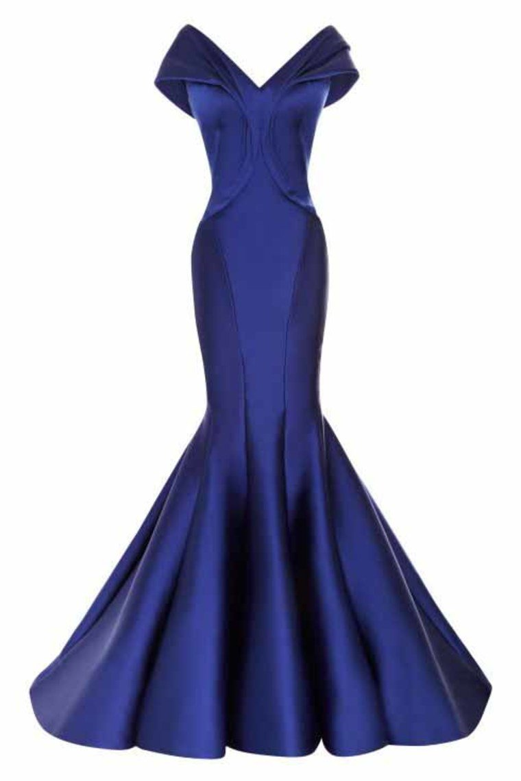 2019 Satin Off The Shoulder Evening Dresses Mermaid Satin Sweep Train