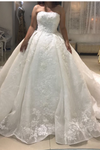 Strapless Ball Gown Ivory Glorious Wedding Dresses New Arrival