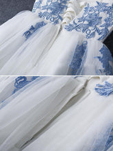Load image into Gallery viewer, Elegant Sweetheart Tulle Appliques Short Mini A-Line Sweet 16 Dress RS787