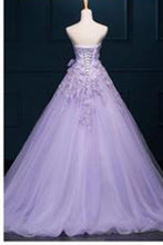 Load image into Gallery viewer, New Arrival Ball Gown Floor-length Luxury Appliques Wedding Dresses RS195